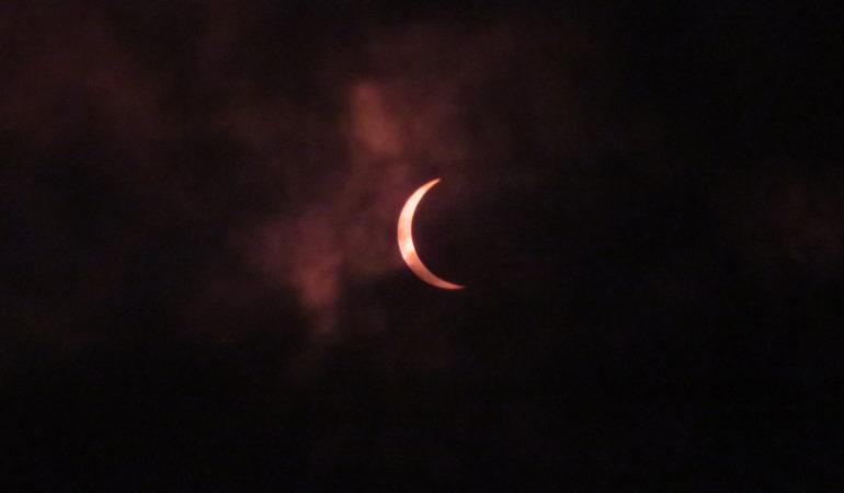 Eclipse 2017 in Cameron, Missouri