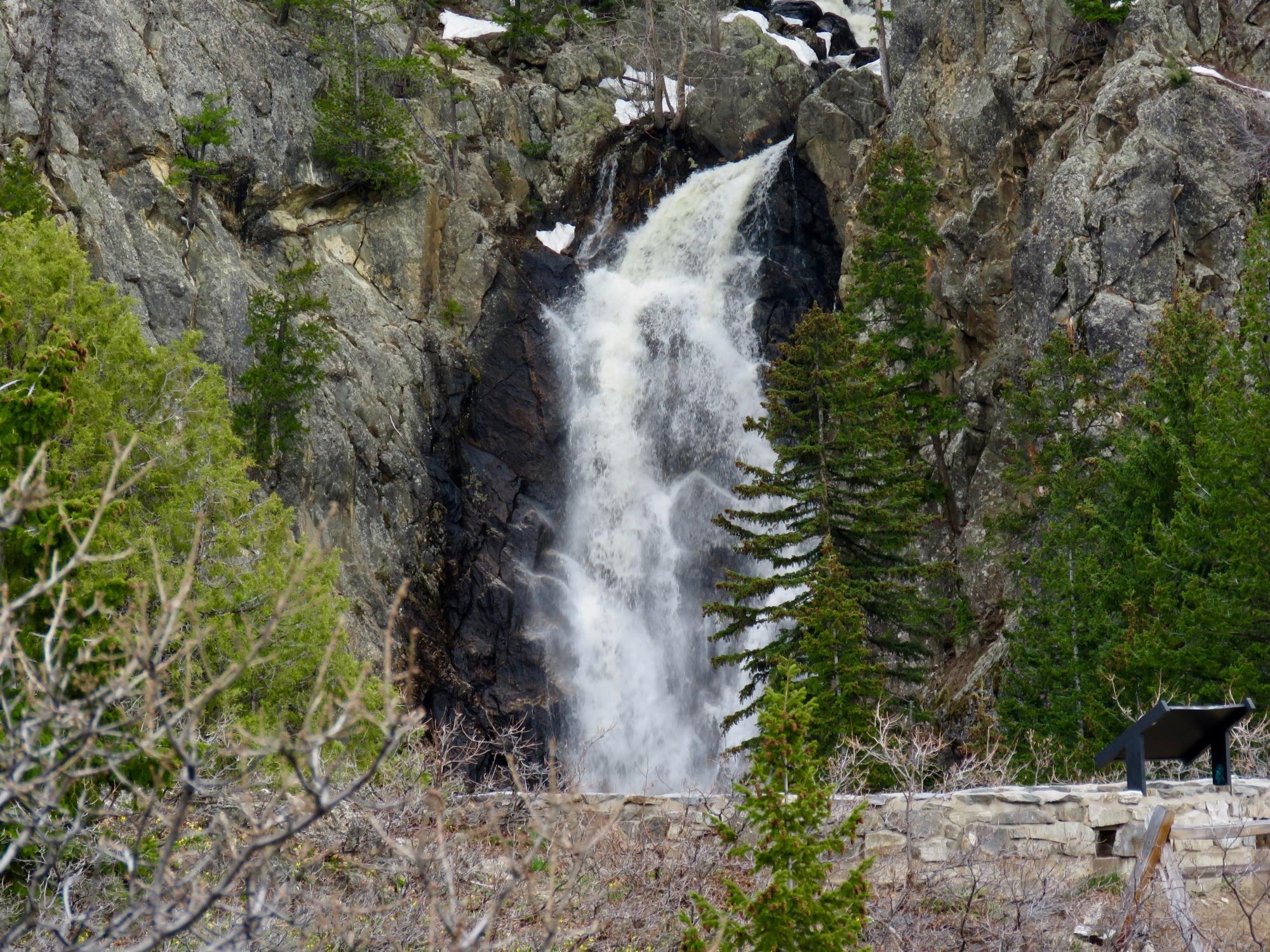 Steamboat springs and fish creek falls for Fish creek falls