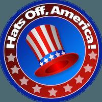 Hats Off, America!