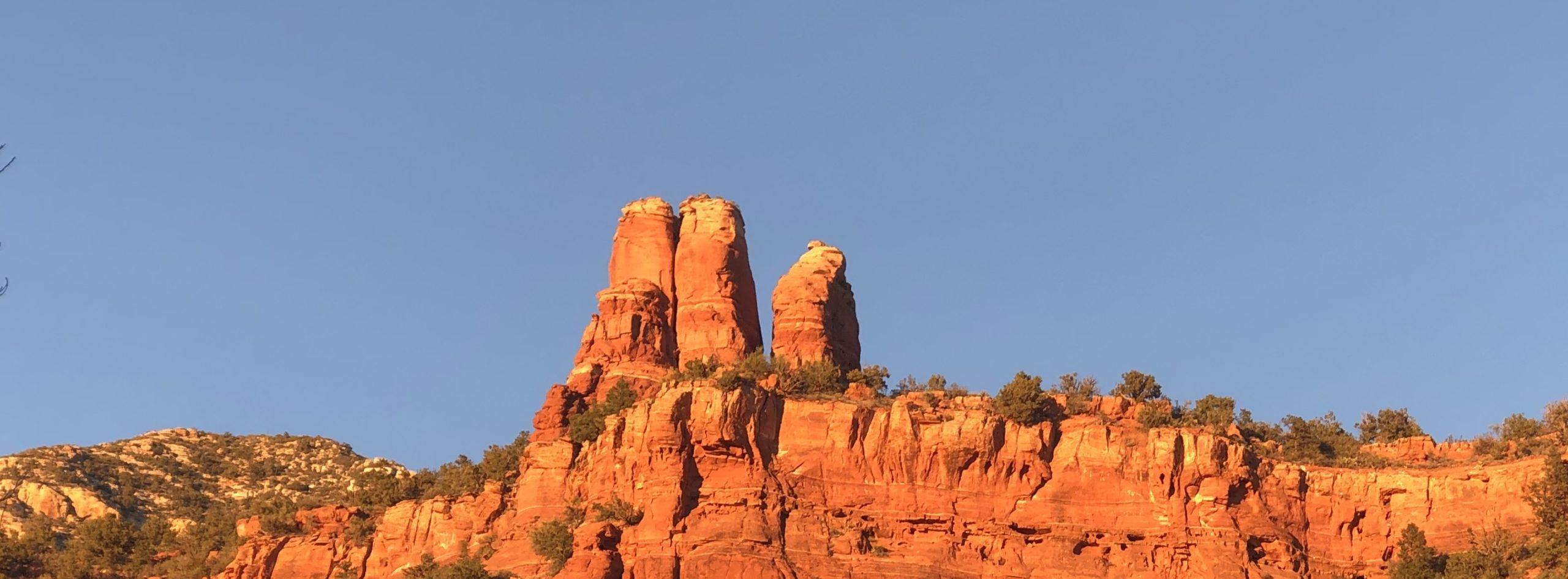 chimney rock in sedona