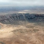 The Barringer Crater in Arizona